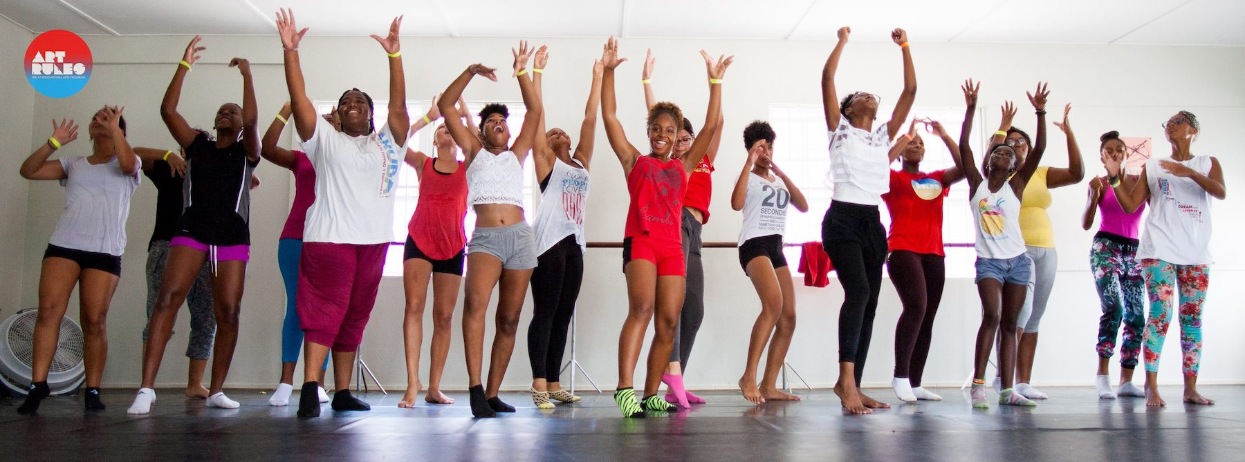 ARC Dance students in rehearsal